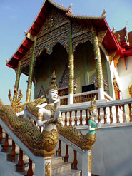 Doi Saket Temple in Chiang Mai (Photo: David Giacalone)